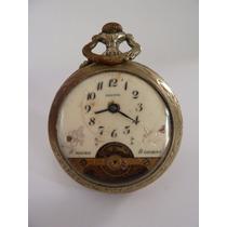 Reloj De Bolsillo, Marca Presto Acero. Antiguo.