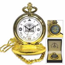 Masonic Pocket Watch (entrega 3 - 4 Semanas)