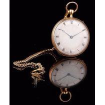Reloj De Bolsillo Sonería Repeticón A Cuartos Oro 18k.