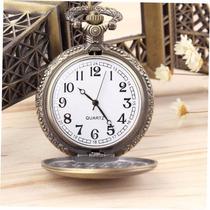 Reloj De Bolsillo Y Dije De Bronze