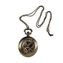 Juegos Del Hambre Sinsajo Collar Reloj 2.5cm De 3 Peliculas