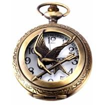 Reloj Collar De Bolsillo Los Juegos Del Hambre Sinsajo