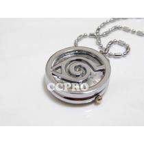 Reloj De Bolsillo Collar Naruto Konoha