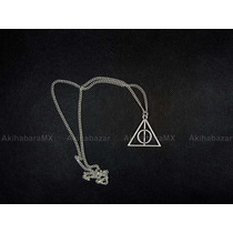 Collar Reliquias De La Muerte De Harry Potter Fijo. Mayoreo
