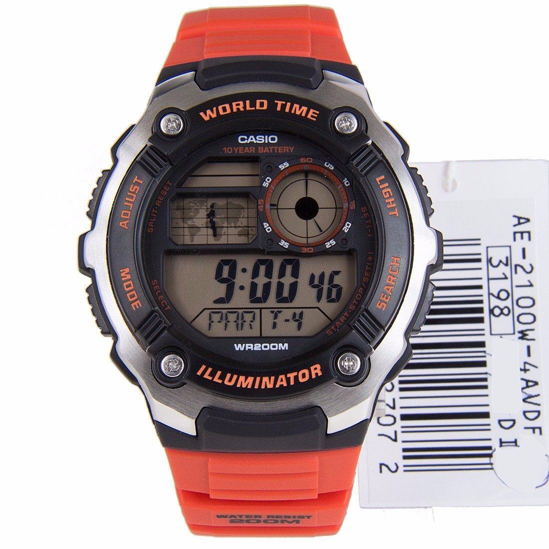 Reloj Casio AE 2100W 4AVEF de hombre NEW con caja de resina