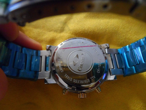 Reloj Cornell Cronografo Combinado Nuevo
