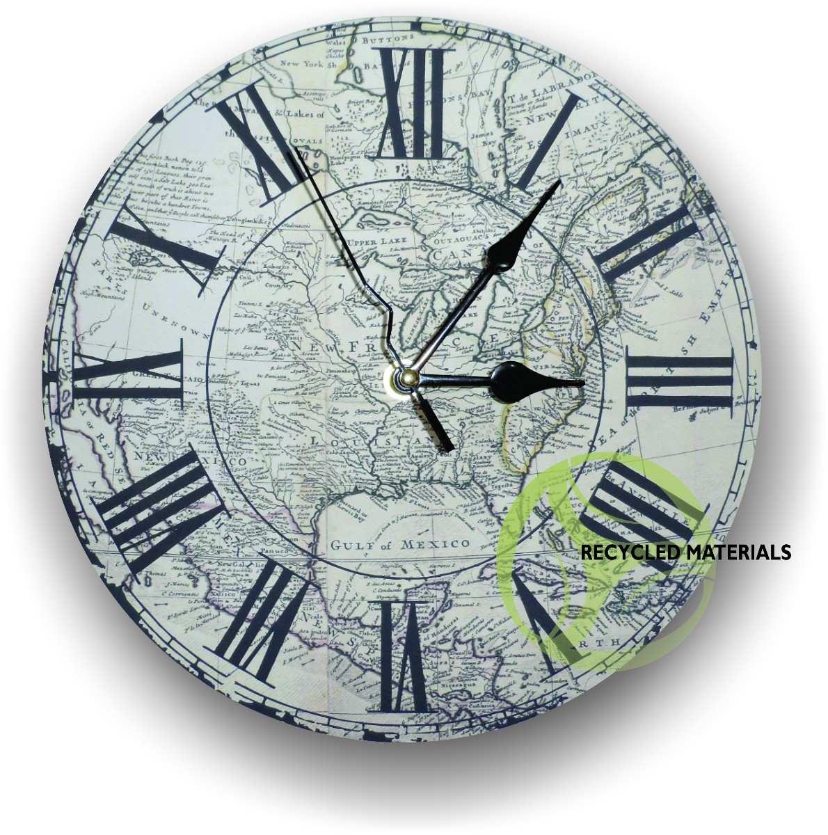 Reloj de pared mercadolibre mxico tattoo design bild - Relojes pared antiguos ...