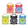 Mini Reloj Con Alarma Mini Kikkerland Varios Colores Watch