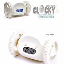 Clocky Reloj Despertador ¡atrapalo Antes De Que Escape!