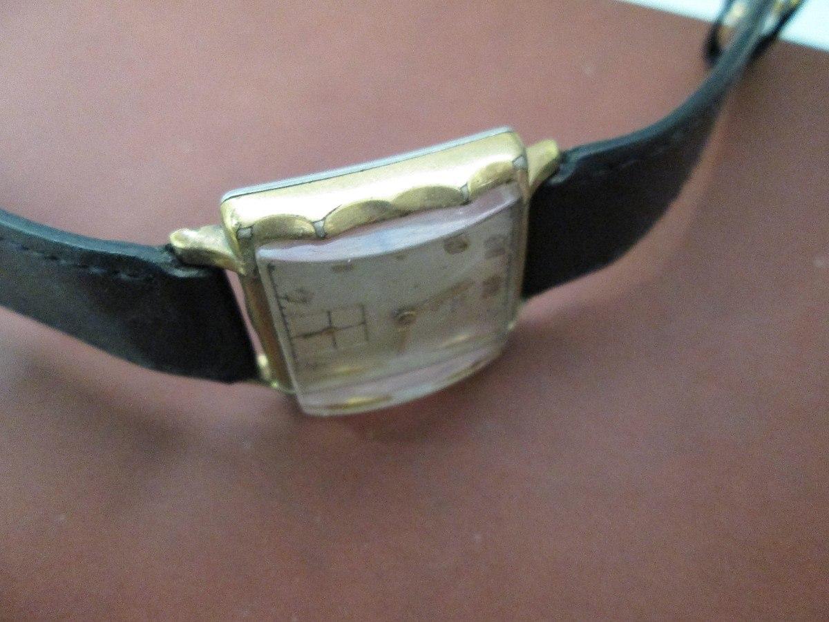 Reloj Elgin Antiguo Con Caja Chapa De Oro 1 605 00 En