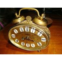 Antiguo Reloj Blessing De Mesa Alemán Caja Filigranada