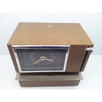 Antiguo Reloj Checador De Baterías, Rod Bel