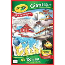 Planes Crayola Disney Gigantes Colorear