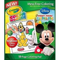 2 X Crayola Color Wonder De Disney Para Colorear Pad