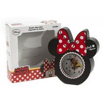 Minnie Reloj - Ratón Rojo Kids Madera Chicas Disney Oficial