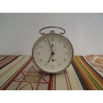 Reloj Despertador Alemán Junghans Manecillas Fosforecentes