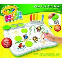 Crayola Color Wonder Arte Escritorio Con Stamper
