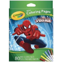 Crayola Ultimate Spiderman Mini Colorear