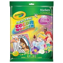 Crayola Colores Wonder Marcadores Y Colorear Pad - Disney Pr