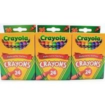 Suministros De Color Para Colorear Escuela 3 X 24 Crayola Co