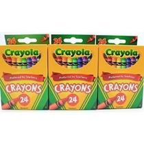Suministros De Color Para Colorear Escuela 2 X Crayola 24 Co