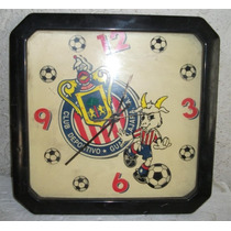 Reloj Retro Chivas Del Guadalajara Años 80s Zxc