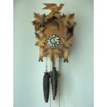 Reloj De Pendulo Cucu Aleman