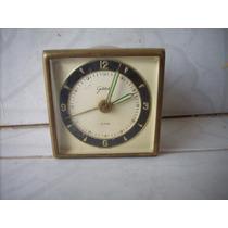 Antiguo Reloj De Cuerda Aleman Para Decoracion O Coleccion