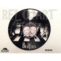 Original Reloj De Pared En Disco Lp - Beatles - Envio Gratis