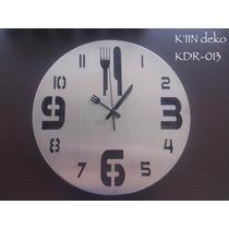 Relojes Minimalistas De Pared Para Cocina, K