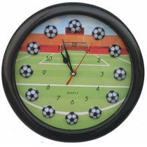Reloj De Pared Cancha De Futbol (artículo Nuevo)