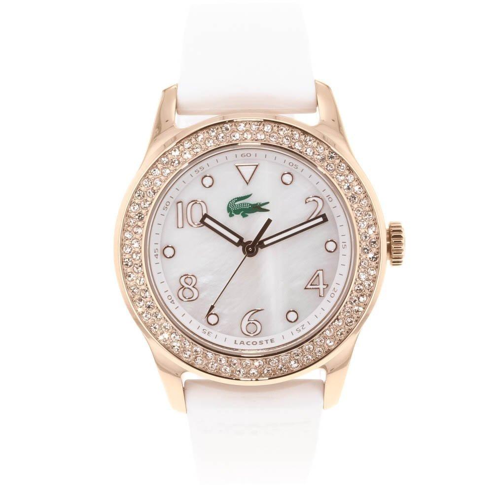 Reloj Pulsera Dorado Elegante Para Mujer Lacoste 2000648 Pm0 - $ 3,399