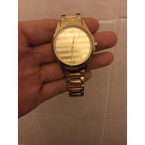 Reloj Armani Exchnge Dorado