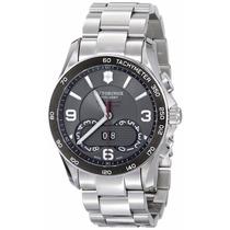 Reloj Victorinox Chrono Classic Negro A. Inoxidable 241618