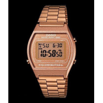 Reloj Casio B640 Color Dorado Rosado