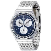 Yvs410g Reloj Swatch Irony Gales Cronógrafo Varonil