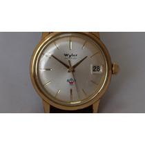 Reloj Wyler Incaflex De Cuerda Suizo Exacto Vintage