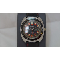 Reloj Legant Automatico Suizo Acero Exacto Vintage De Buzo