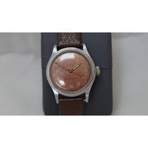 Reloj Sultana Incabloc Cuerda Suizo Acero Exacto Vintage