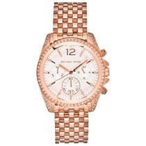 Reloj Michael Kors Mk5836 Glitz Rosado