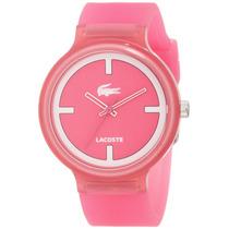 Reloj Pulsera Rosa Para Mujer Dama Lacoste Goa 2020025 Pm0