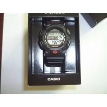 Reloj Casio G Shock G-9100 W Time Fases Lunares Wr200m