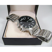 Reloj , P U M A . Acero Nuevo Kppn1 Z