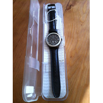Reloj Swatch Modelo Ypb401 Con Correa De Piel