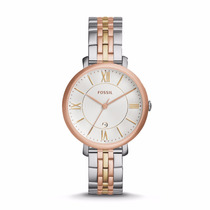 Jacqueline Tri-tone Stainless Steel Watch