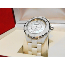 Chanel J12 Automatico Diamante Nuevecito 38 Mm Impecable