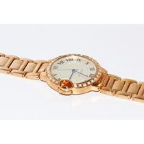 Reloj Oro E Incrustaciones De Correa Y Bisel R15