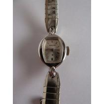 Reloj Hamilton De Oro Blanco 14k