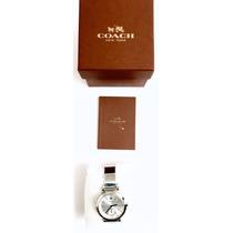 Reloj Coach Mujer Plata Nuevo Original