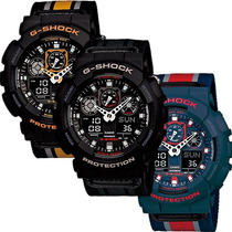 Reloj Casio G Shock Ga100 - Resistencia Magnética - Cfmx
